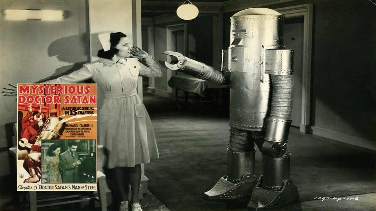 1966: Robô (Homem de Aço) do Misterioso Dr. Satan