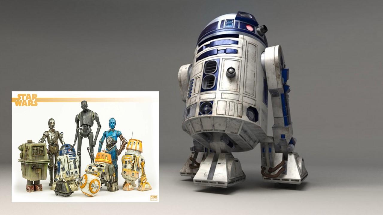 1977: STAR WARS R2-D2 e C-3PO