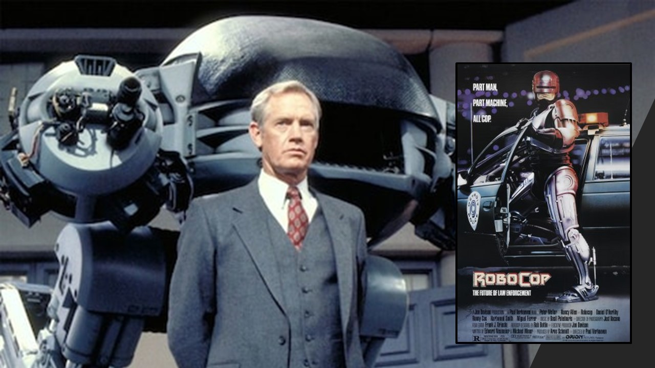 1987: ROBOCOP, Policial Ciborgue.