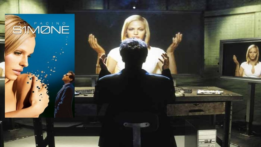 2002: S1M0NE, uma atriz virtual