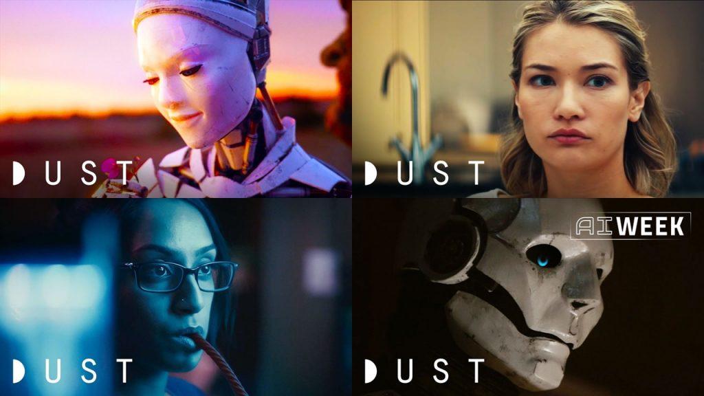 2018: Série DUST, o futuro te espera.