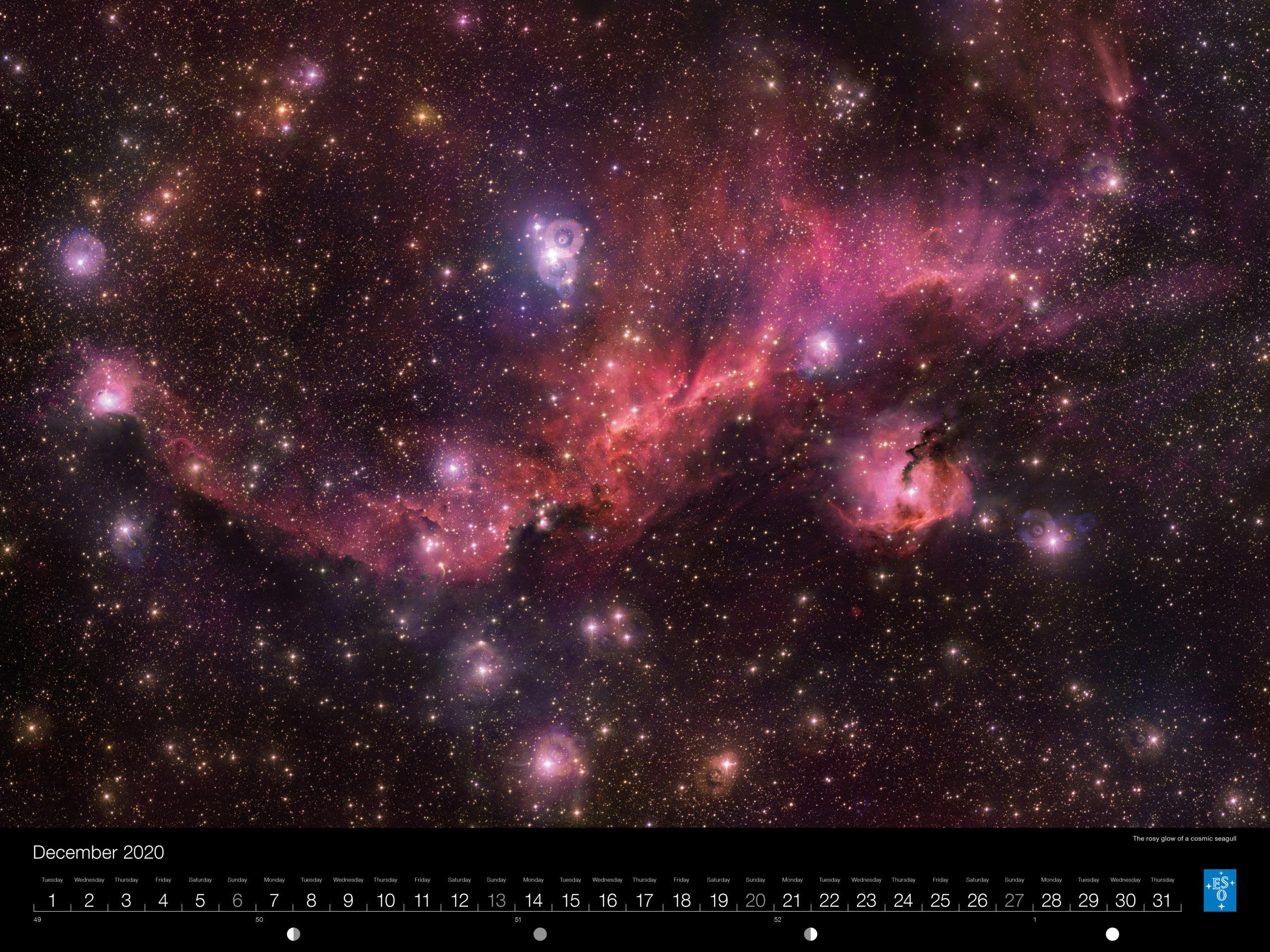 Calendário ESO 2020: Dezembro