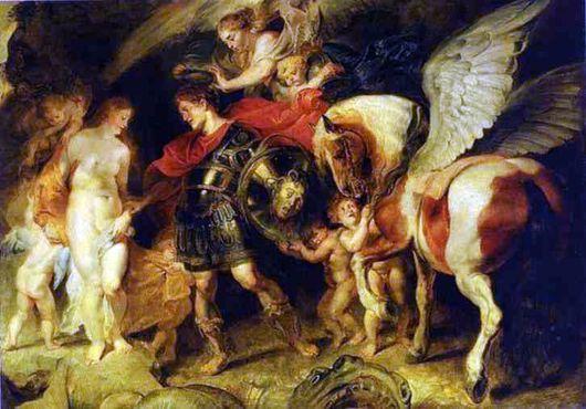 Andrômeda. Coleção Peter Paul Rubens.