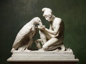 Ganimedes e a Águia (Zeus)