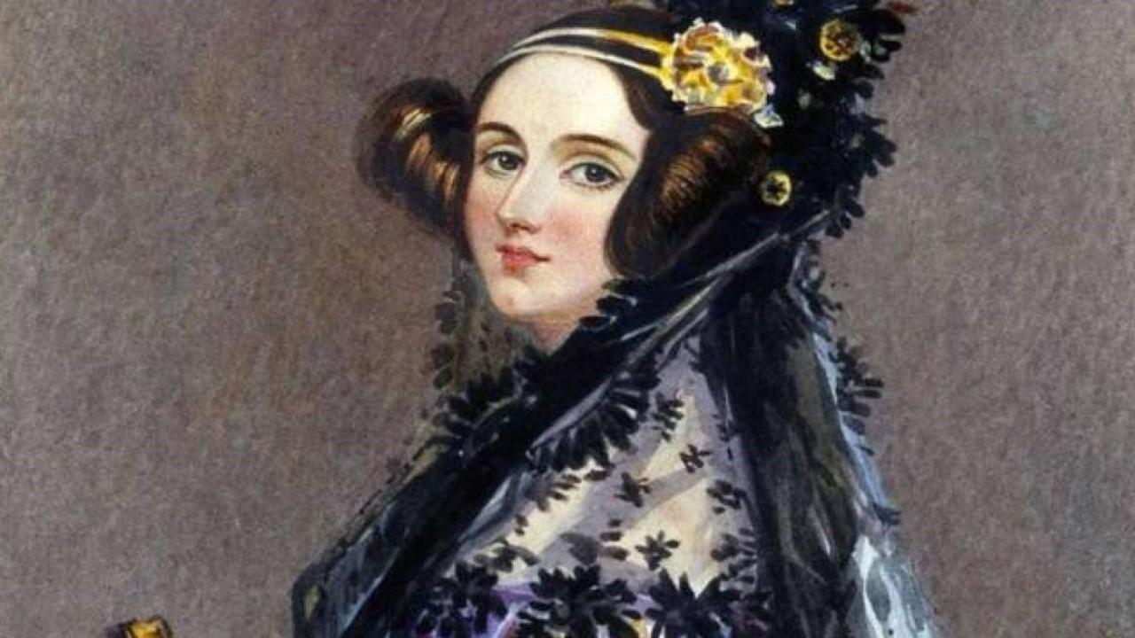 1843 Augusta Ada King Condessa de  Lovelace