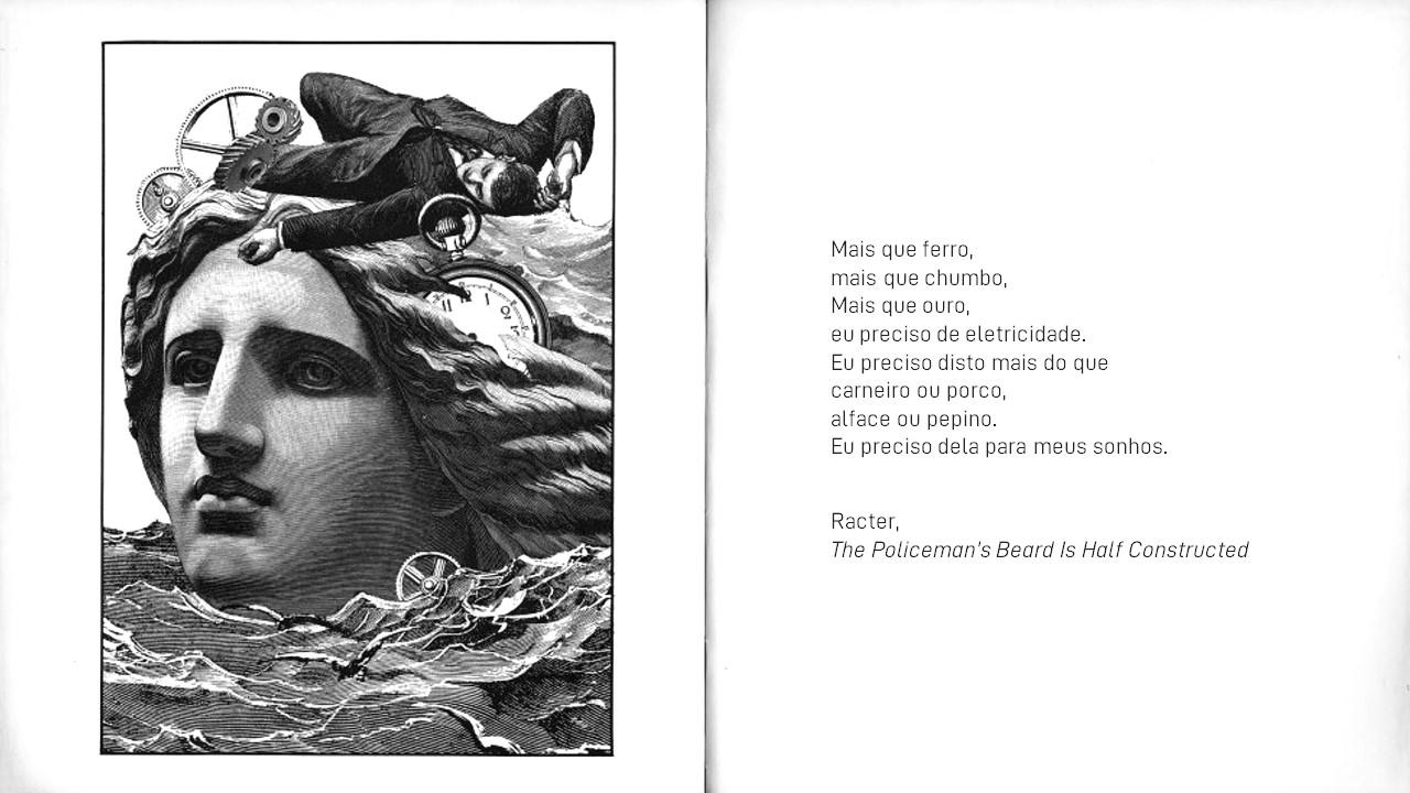 1983. RACTER (RACONTEUR) Programa escreve livro de poesia.