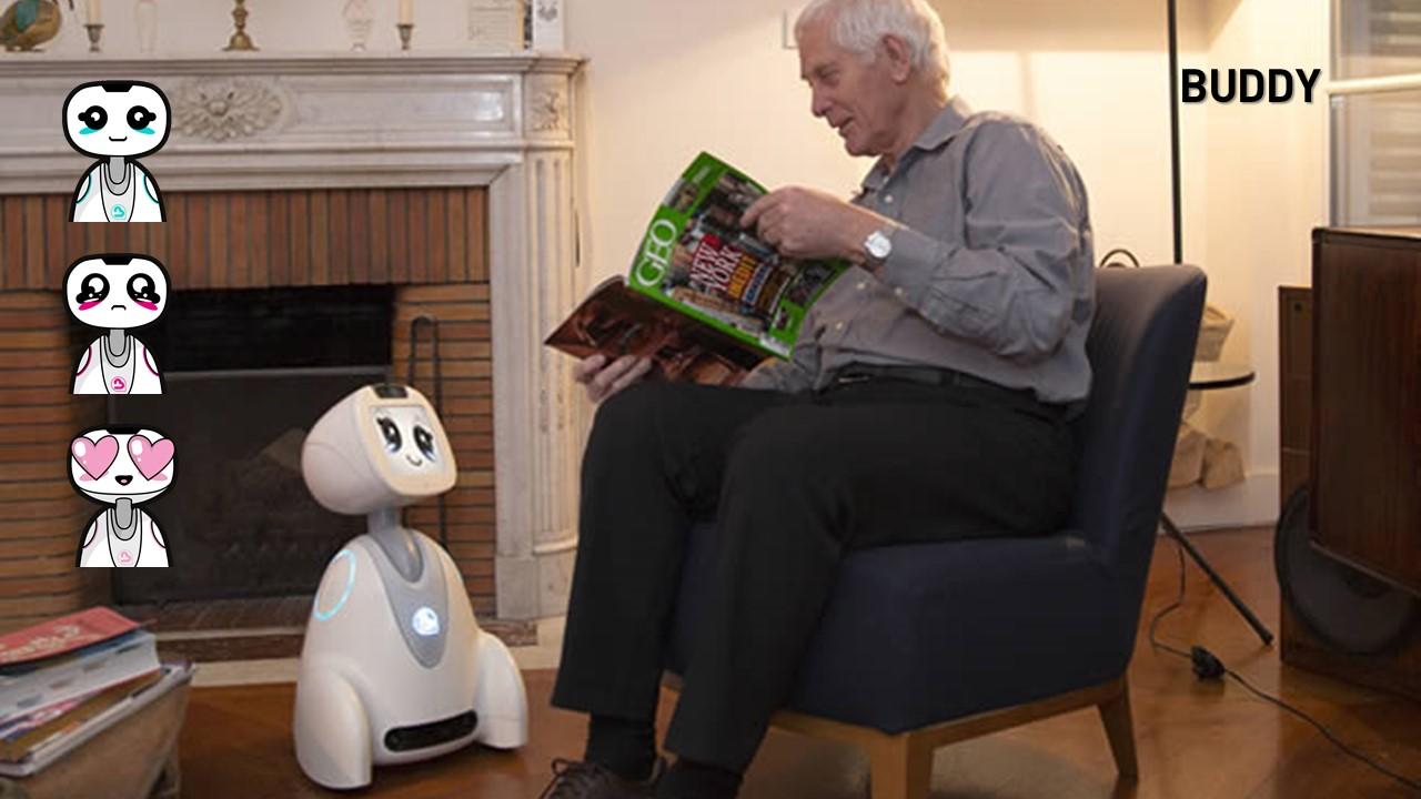 2015. BUDDY, Robô de Companhia Emocional
