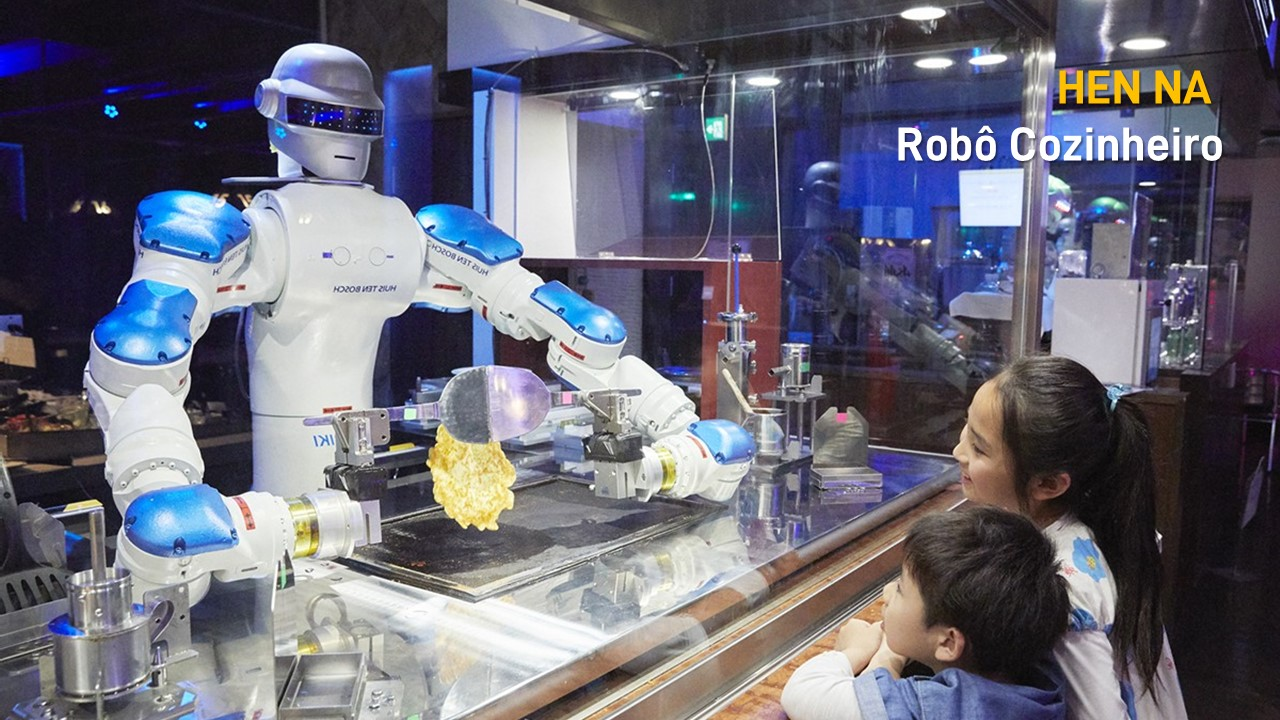 2016. HEN NA, Robô RESTAURANTE faz panquecas
