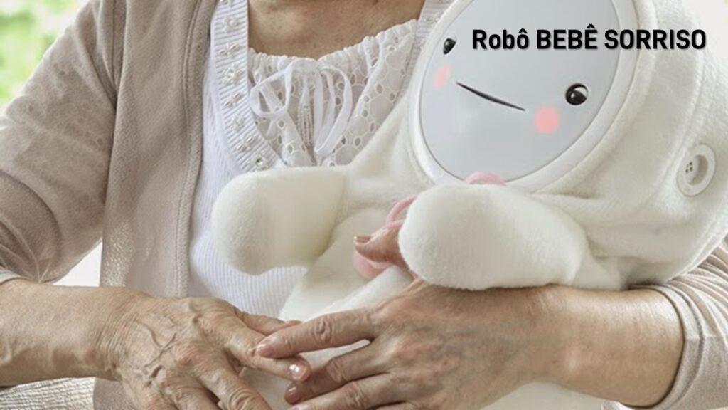 2017. SMIBY SMILE BABY. Robô BEBÊ SORRISO para idosos