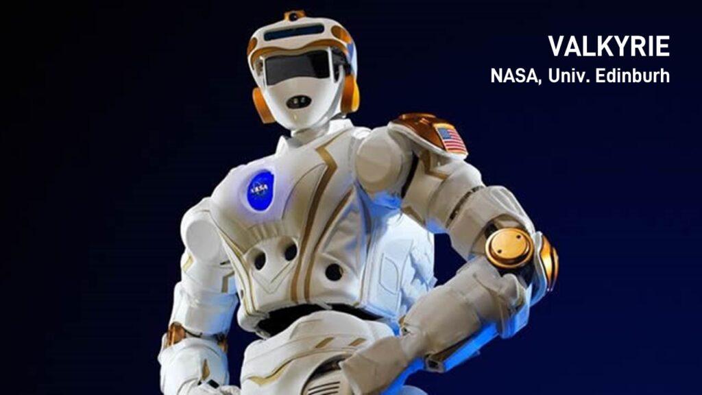 2019. VALKYRIE NASA, Univ. Edinburh.