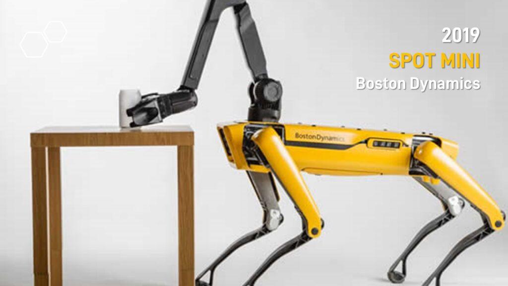 2019 SPOT MINI, Boston Dynamics