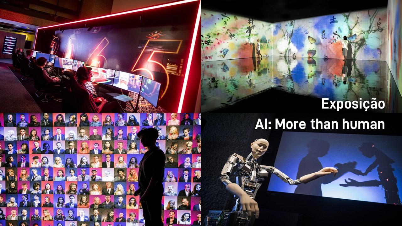 2019. Exposição AI: More than human.