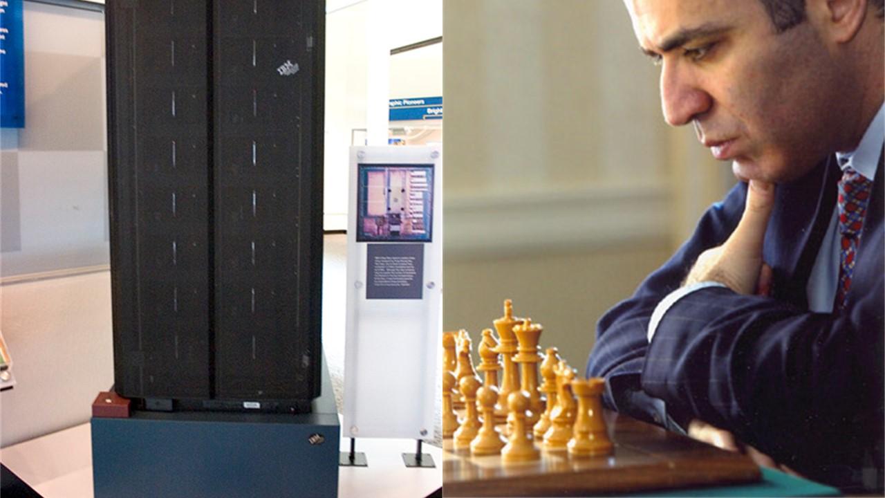 1997. Deep Blue (IBM) vs Garry Kasparov.
