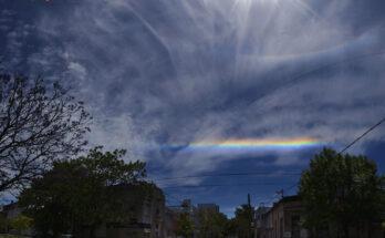 Arcos coloridos sobre Buenos Aires. APOD. NASA.