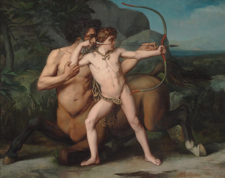 The_Education_of_Achilles_by_Auguste-Clément_Chrétien