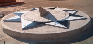 Relógio de Sol Horizontal, Milton Barros.