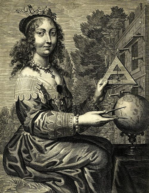 Geometria, Sete Artes Liberais, Jean Leblond. c.1636.