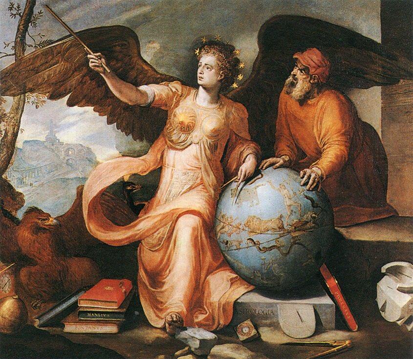 Astronomia. Frans Floris.