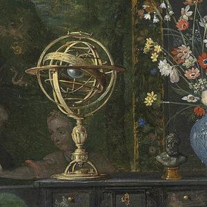 Alegoria da Mirada (Visão), detalhe.