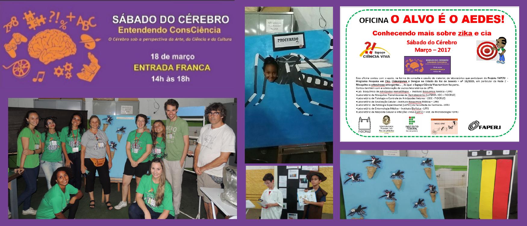 "OFICINA:  AEDES – ZIKA e cia"": O alvo é o Aedes!"